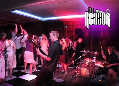 Contact The Reason - wedding band
